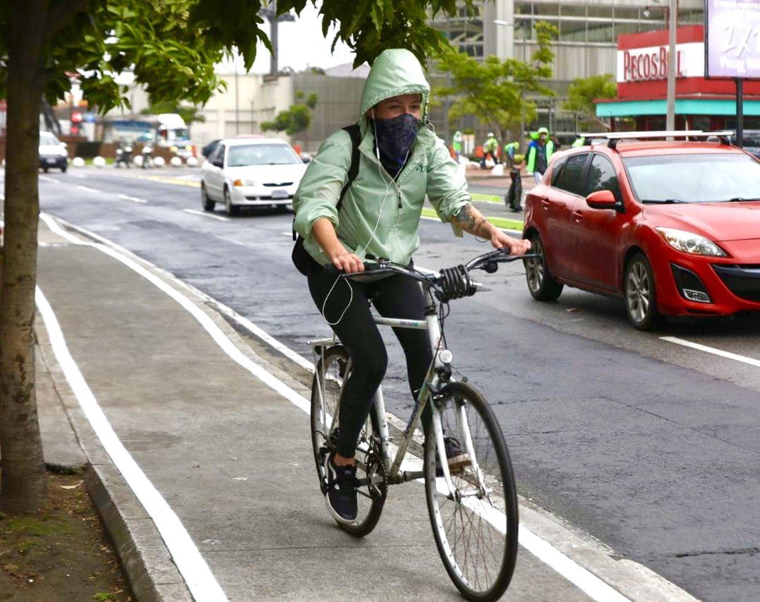 Municipalidad de Guatemala implementa proyecto Zona Bici