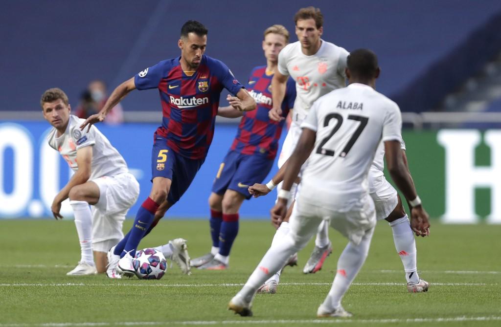 Barcelona vs Bayern Münich, cuartos de final Champions