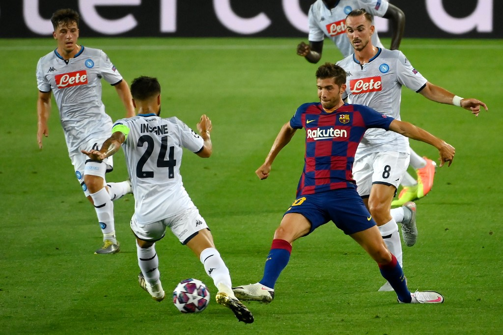 FC Barcelona vs Napoli, octavos de final