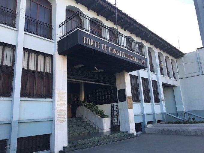 Corte de Constitucionalidad (CC) analiza acciones legales por elección del Colegio de Abogados y Notarios de Guatemala (CANG).