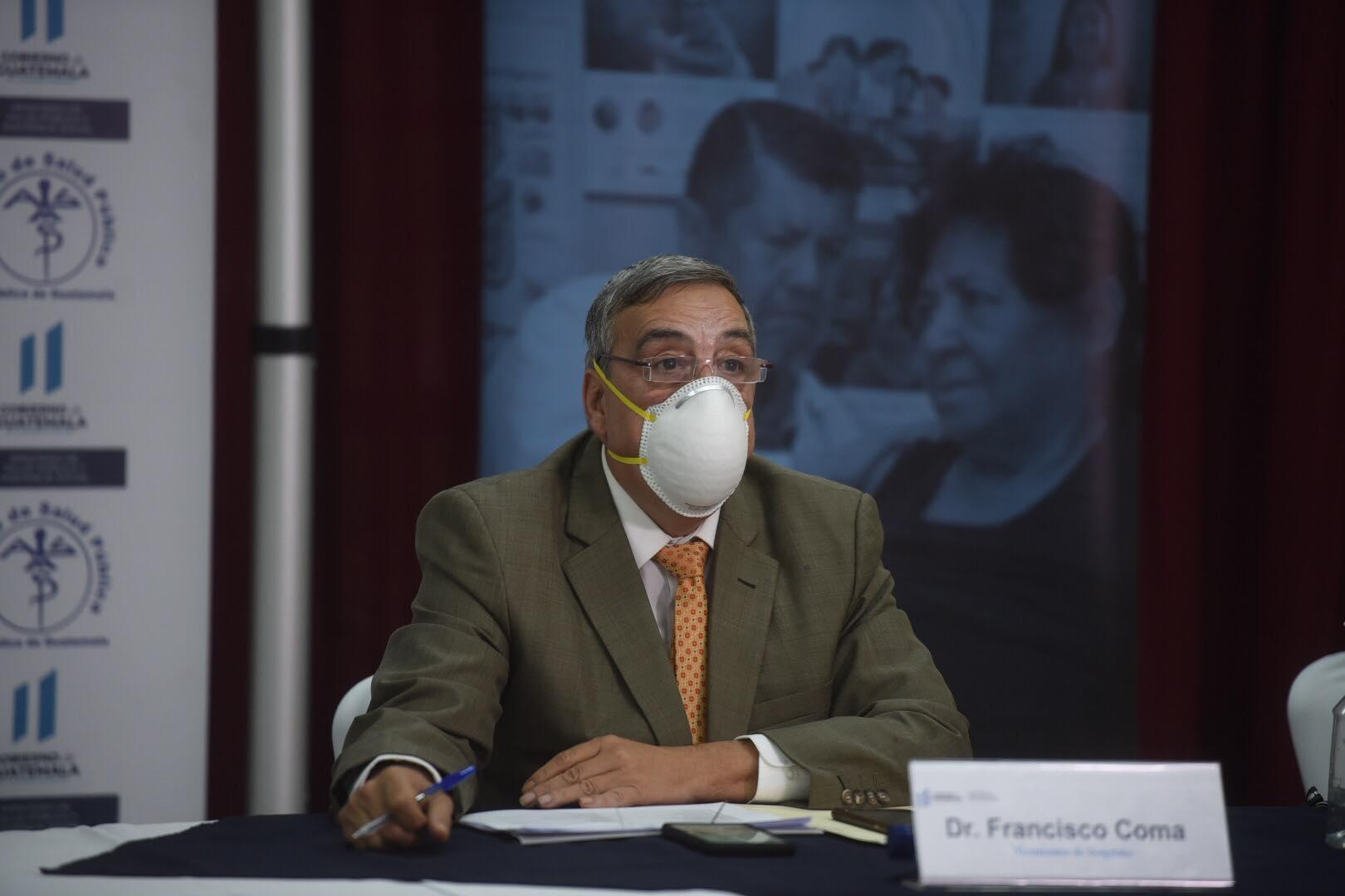 Francisco Coma, viceministro de Hospitales.