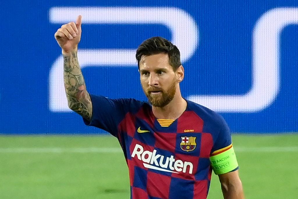 Gol de Messi, Barcelona vs Napoli
