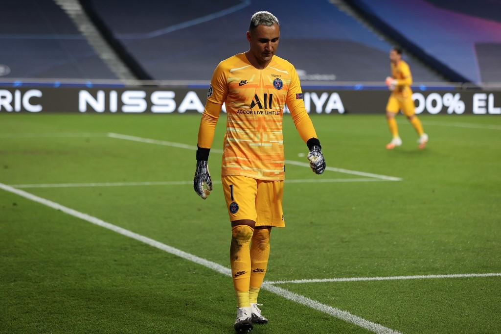 Keylor Navas está en duda para jugar frente al Leipzig