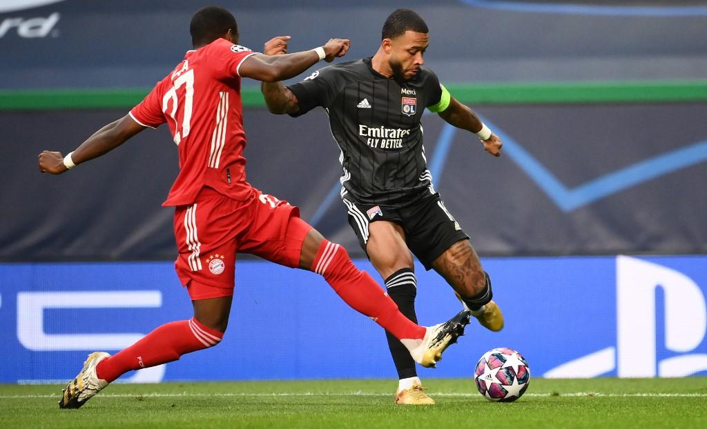 Lyon vs Bayern Münich, Champions League