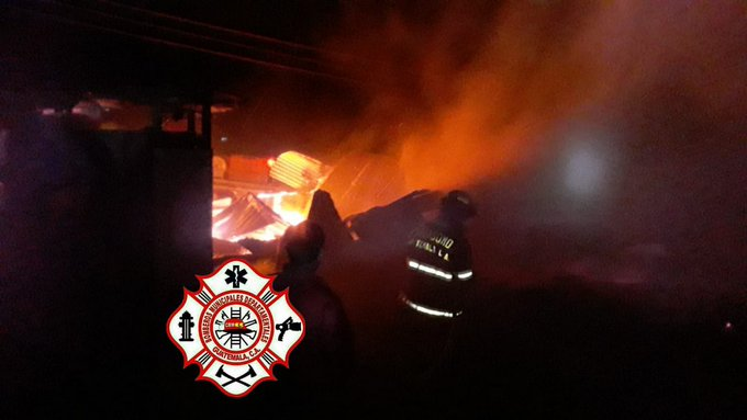Incendio en San Marcos.