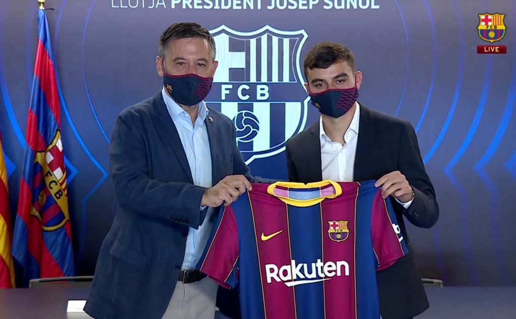 Pedri, nuevo jugador del Barcelona