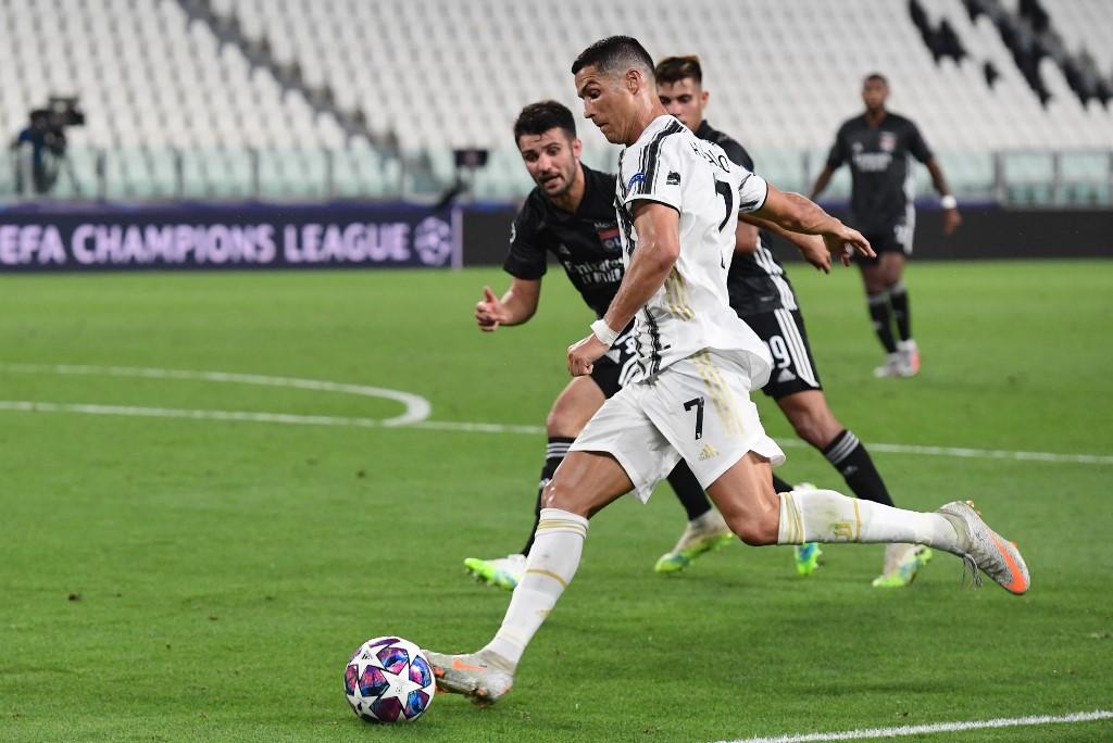 Lyon deja fuera a la Juventus