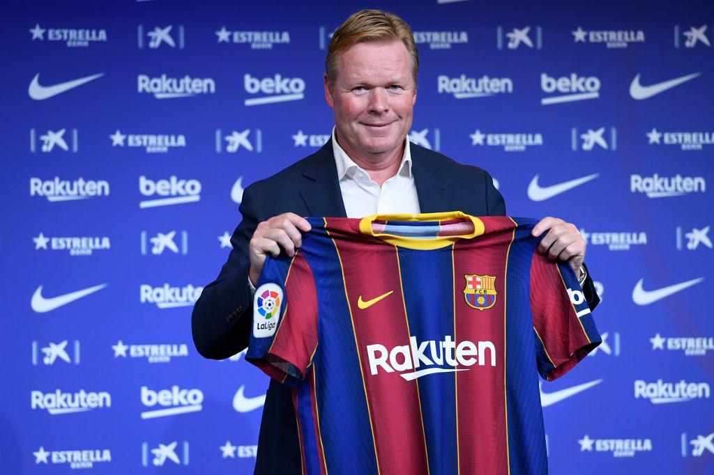 Las primeras declaraciones de Ronald Koeman como técnico del Barcelona