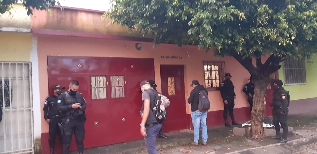 allanamientos en Escuintla