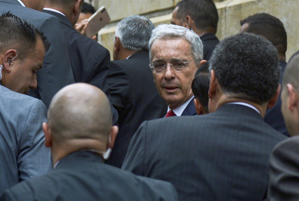 Álvaro Uribe, expresidente colombiano