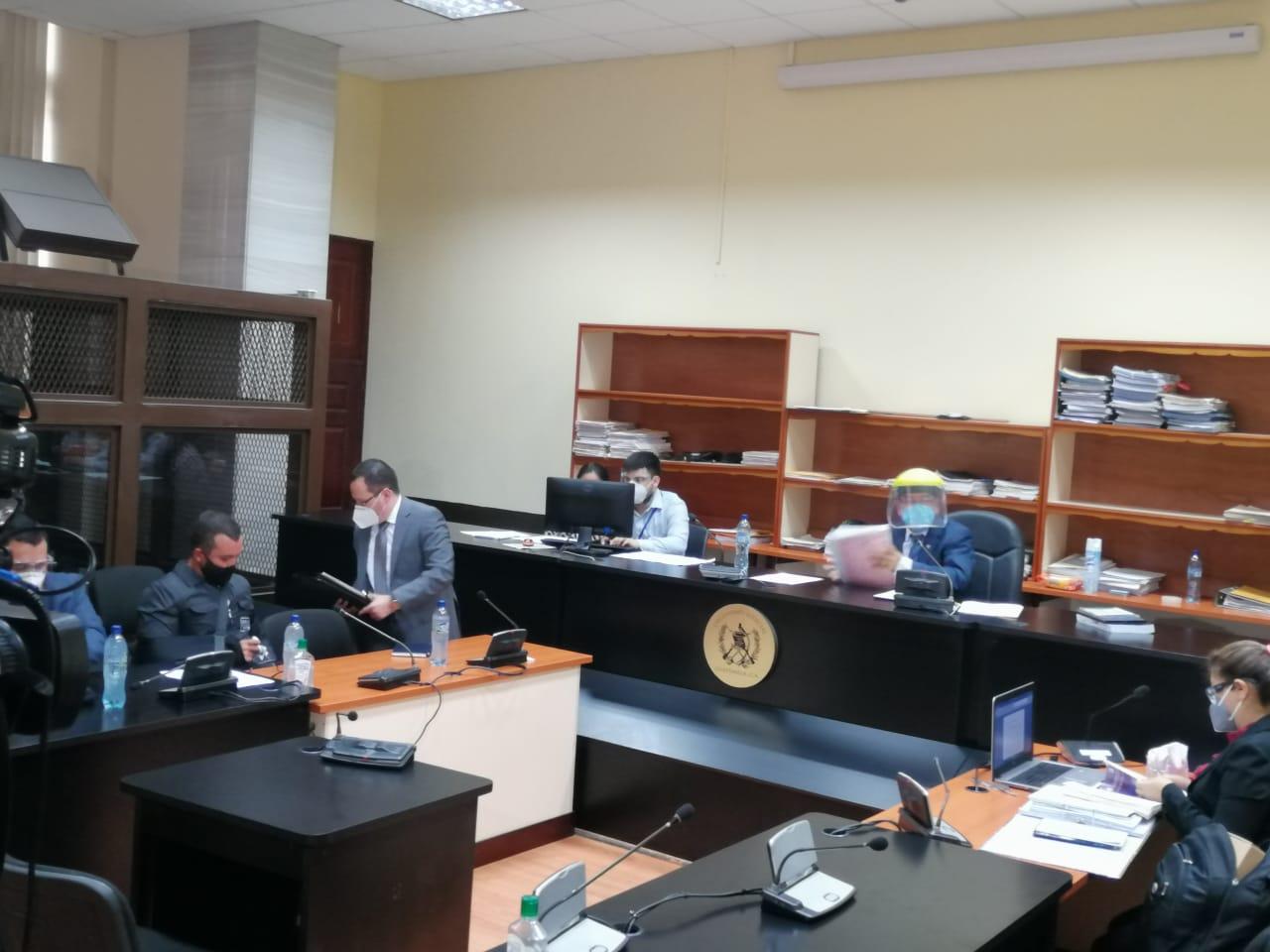 audiencia de motivo de detención del exministro Alejandro Sinibaldi
