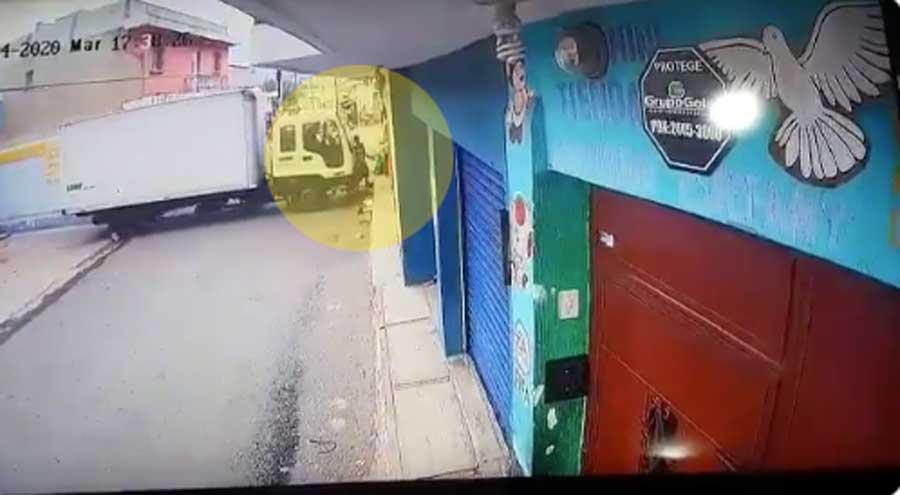 Mujer atropellada en San José Villa Nueva