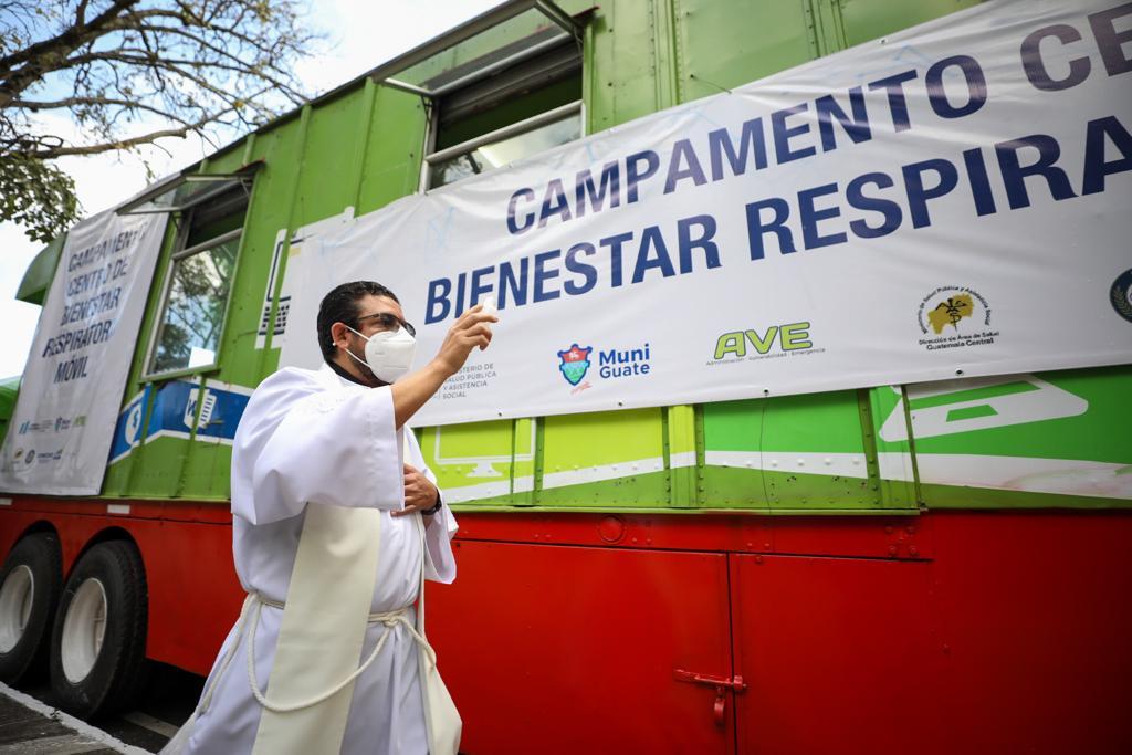 Centro de Bienestar Respiratorio Móvil