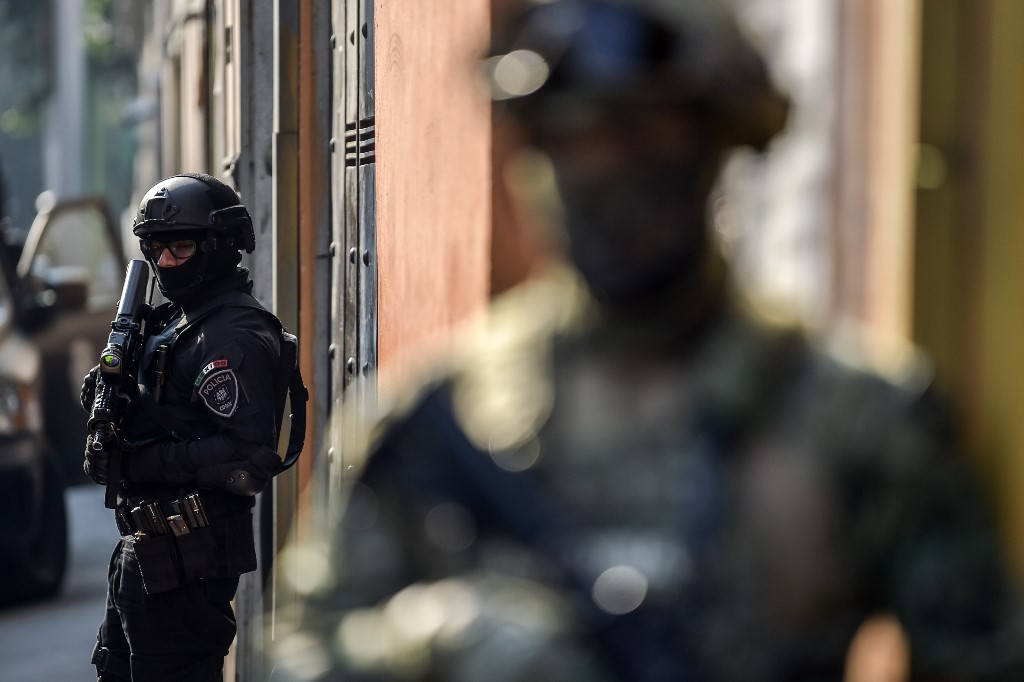 Fuerzas de seguridad de México
