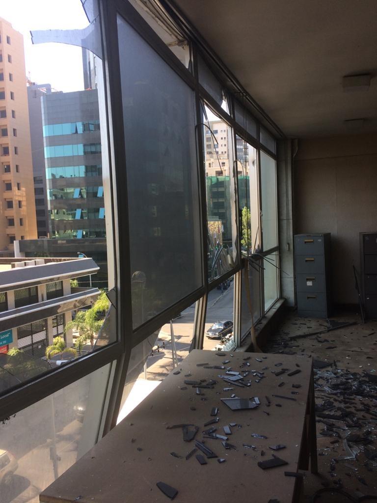 Reportan daños en consulado de Guatemala en Beirut tras explosiones