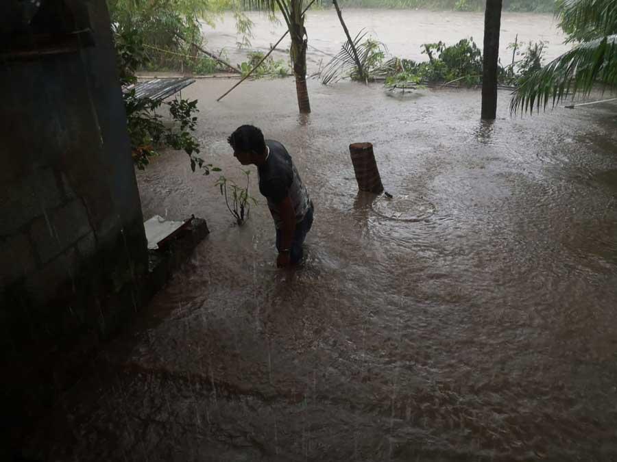 Desbordamiento del río Chegüez