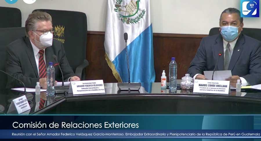 Embajador del Perú en el Congreso