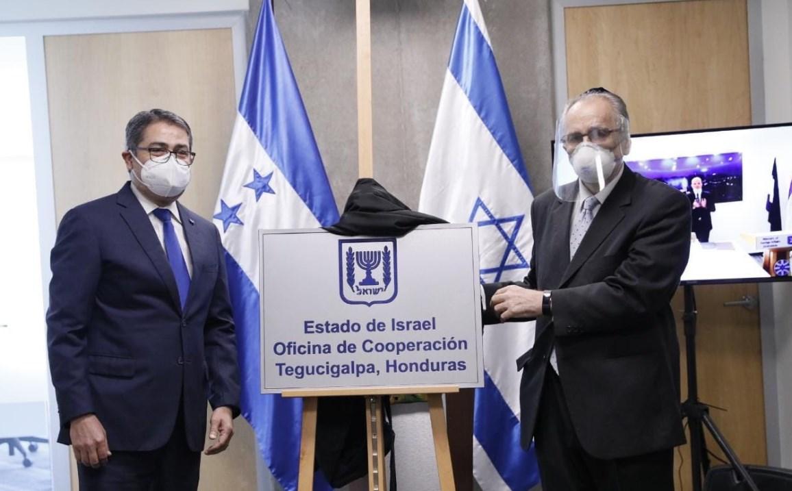 Israel inaugura oficina de cooperación en Honduras
