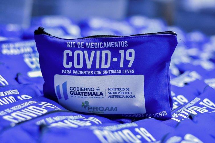 kit de medicamentos contra Covid-19