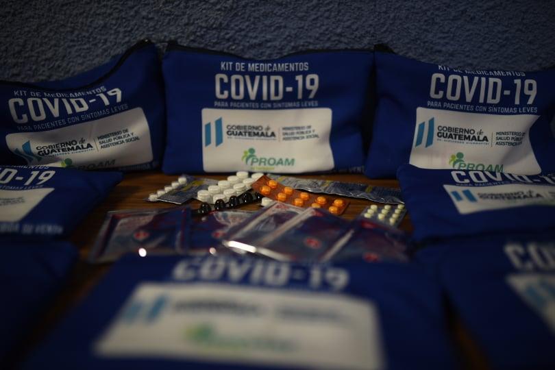 kits de medicamentos para Covid-19