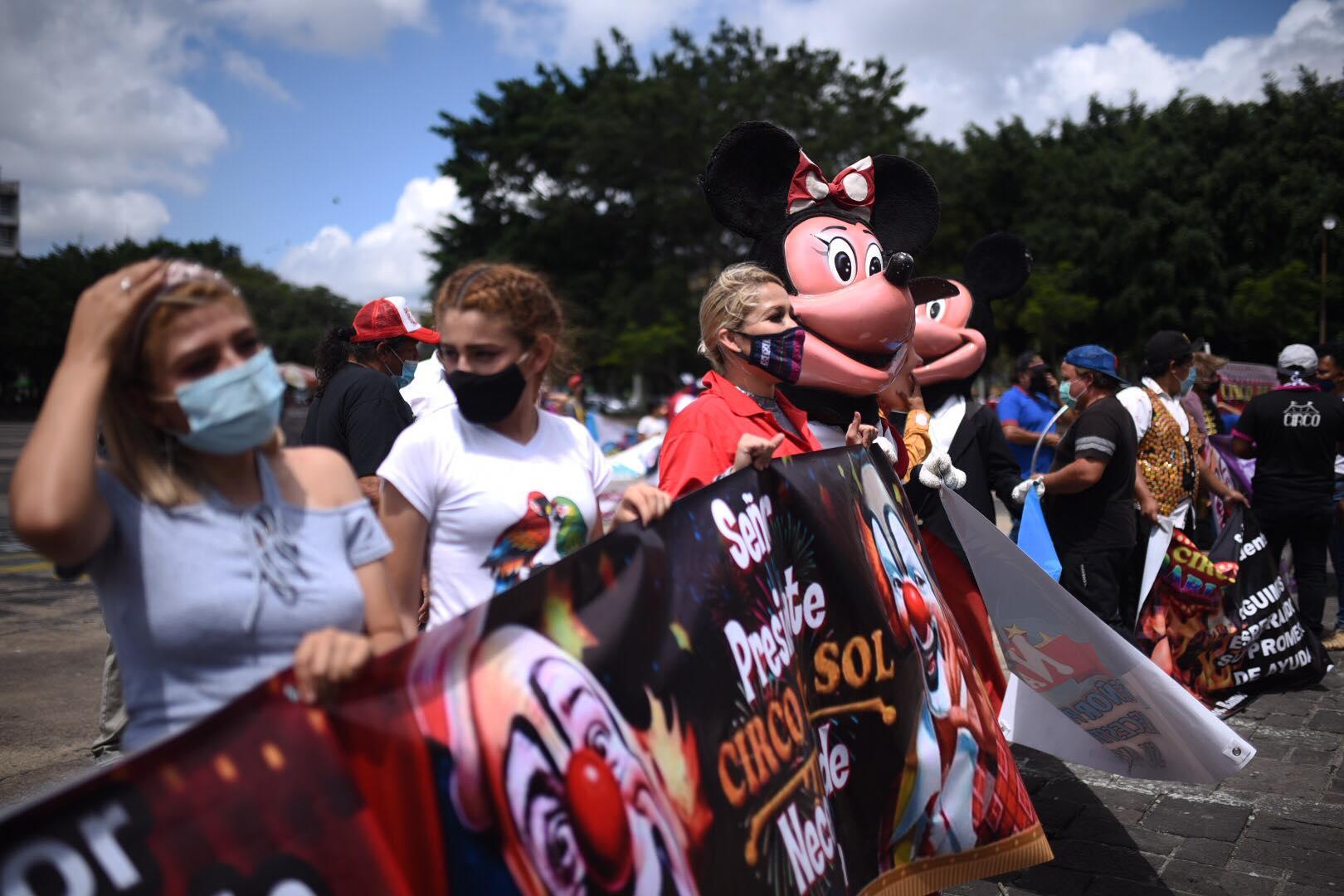 Representantes de circos afectados por efectos de la pandemia piden apoyo del Gobierno