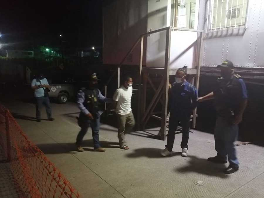 Presuntos mareros detenidos en Guatemala