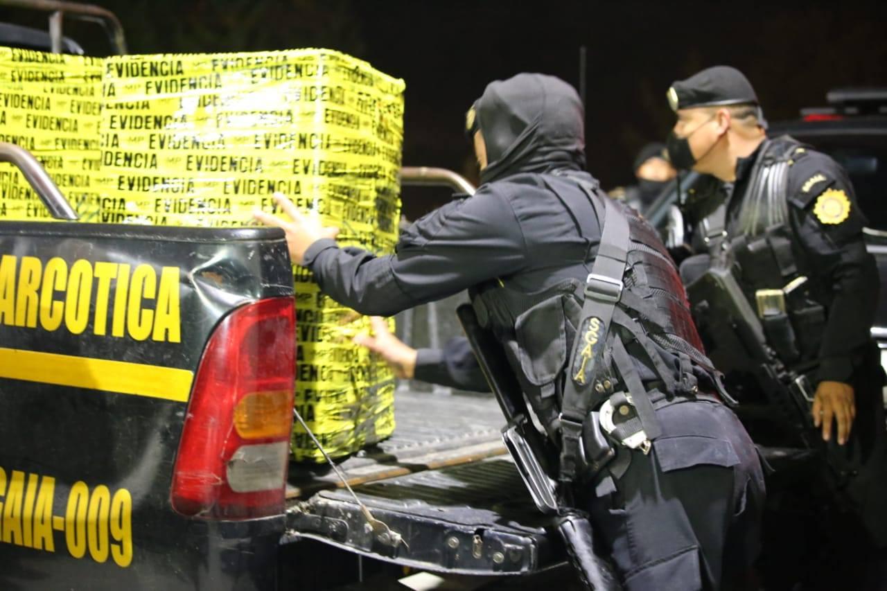 localizan marihuana en picop en ruta Interamericana