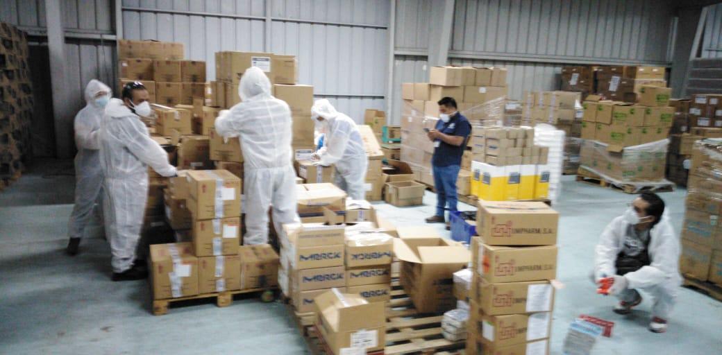 MP inspecciona hospital del Parque de la Industria por medicamentos vencidos