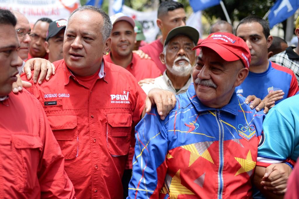 Diosdado Cabello y Darío Vivas