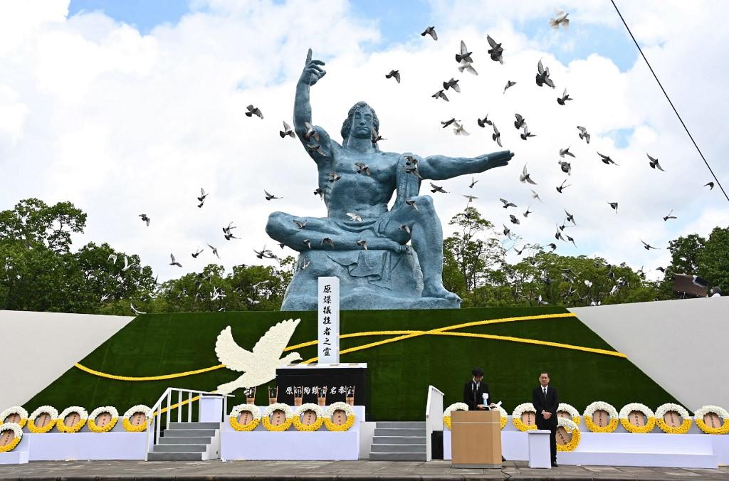 Nagasaki conmemora 75 aniversario de la bomba atómica