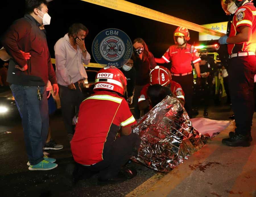 Mueren en accidente en puente Belice