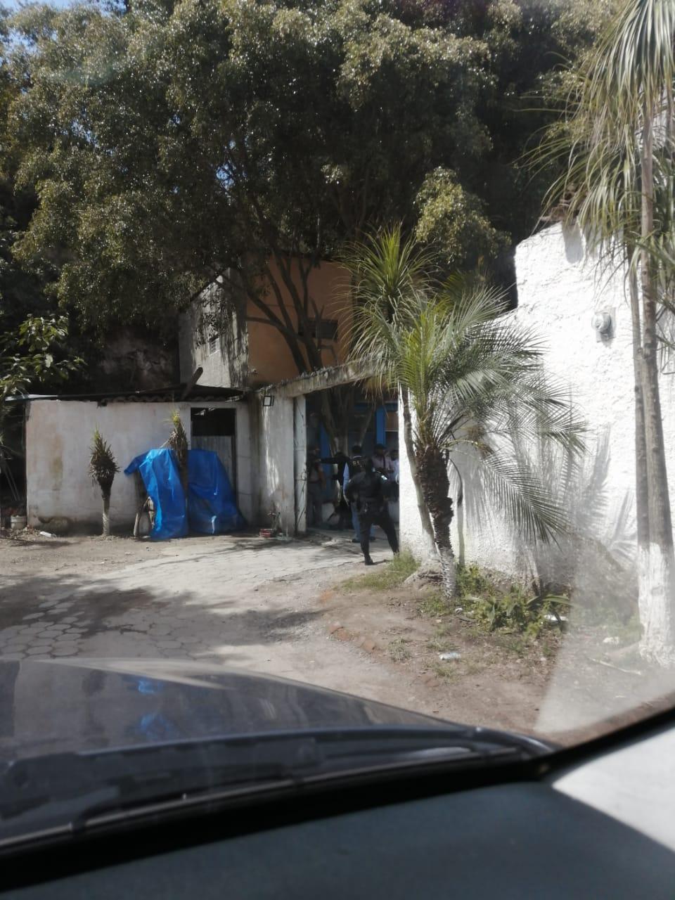 operativo contra trata de personas en Quetzaltenango
