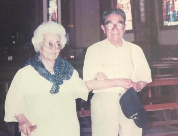 Waldramina Maclovia Quinteros Reyes y Julio César Mora Tapia
