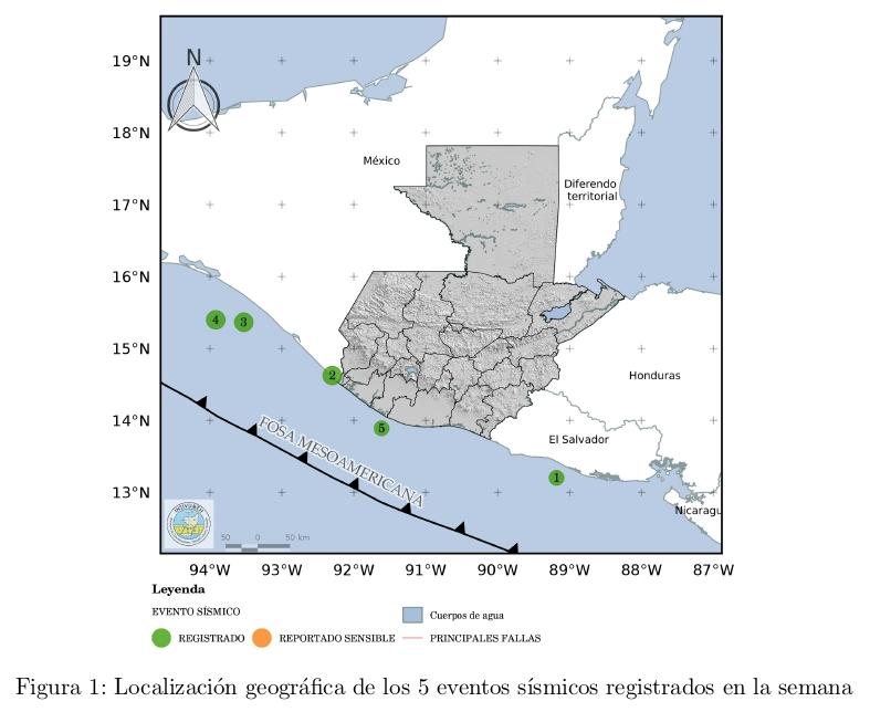 temblores del 3 y 4 de agosto 2020 en Guatemala