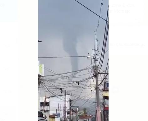 torbellino en Chimaltenango