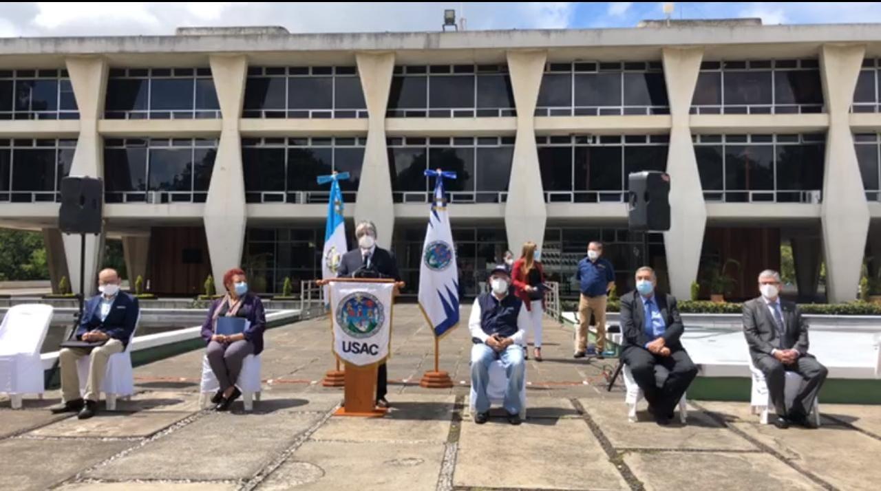 USAC dona cánulas a hospitales nacionales