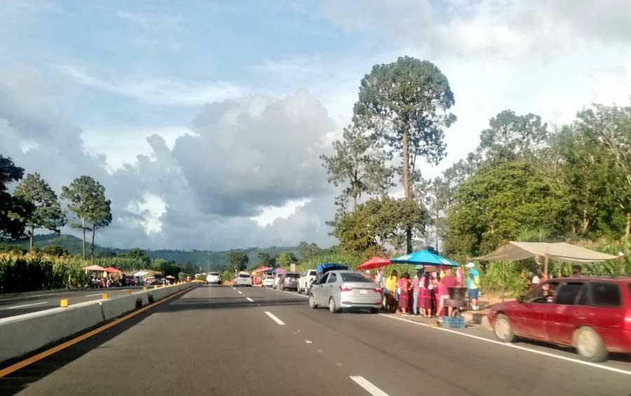 Ventas en el Libramiento de Chimaltenango