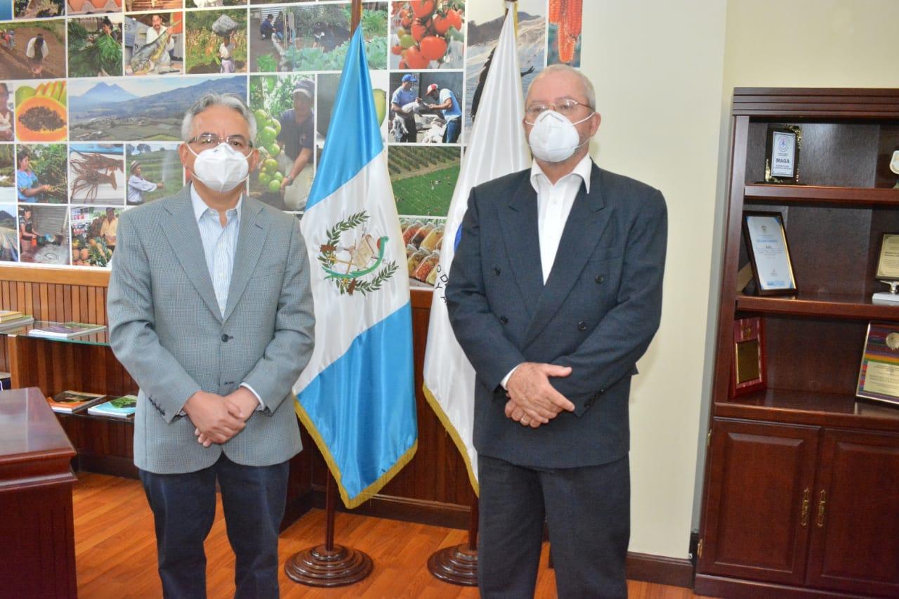 José Duro asume como viceministro de Agricultura
