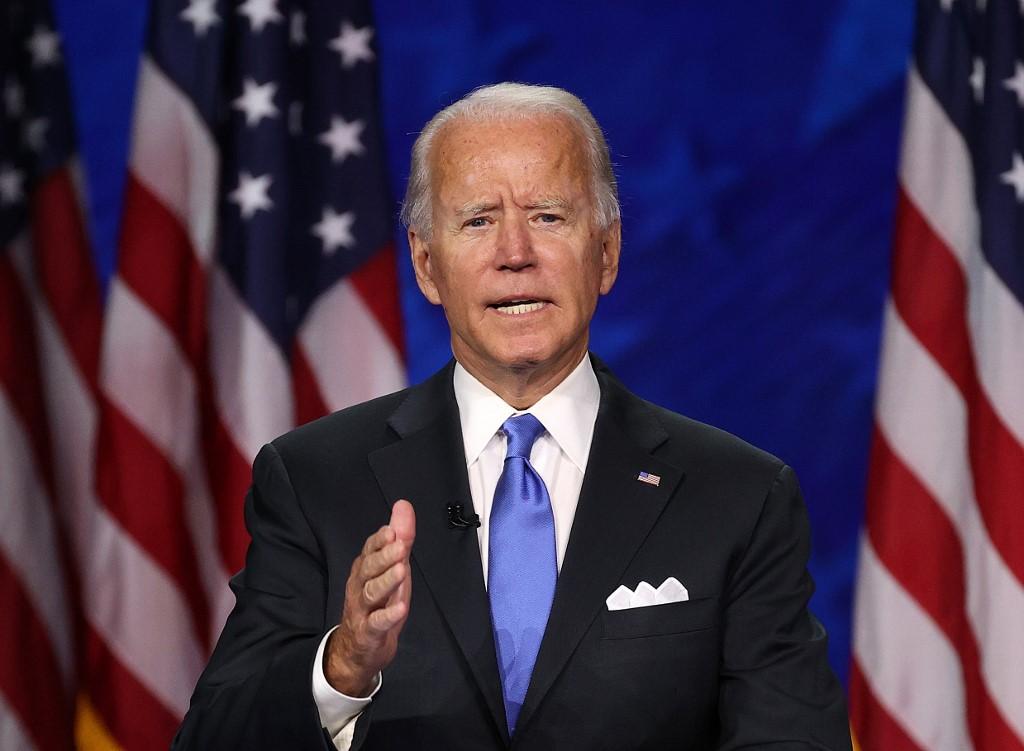 Joe Biden acepta nominación demócrata