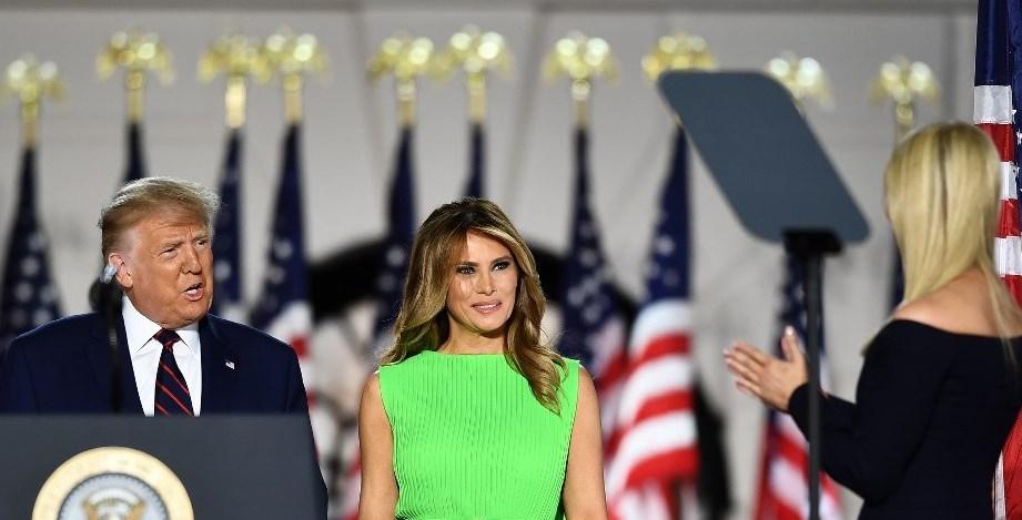 La mirada de Melania a Ivanka Trump