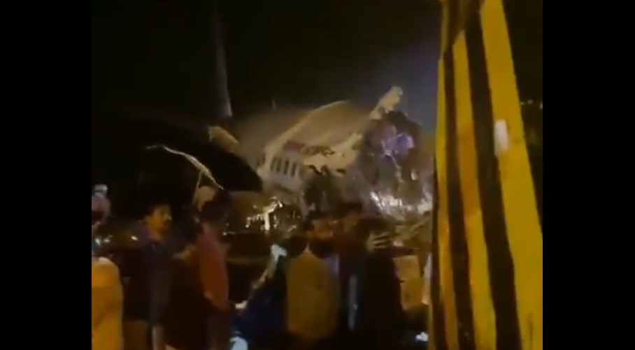 Accidente de avión en la India