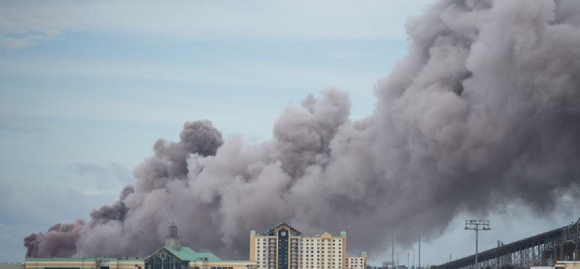 Incendio en planta química de Luisiana