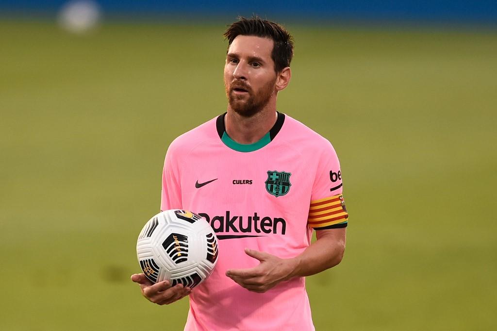Messi marca dos goles en la victoria del Barcelona frente al Girona