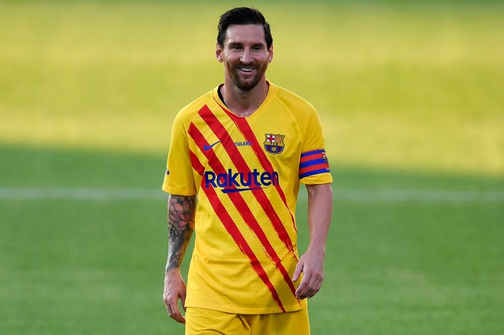 Barcelona vs Nastic, amistoso