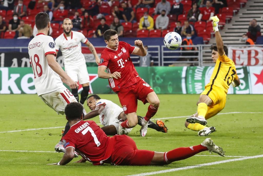 Bayern Münich vs Sevilla, Supercopa de Europa