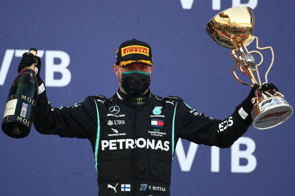 Valtteri Bottas gana el GP de Rusia