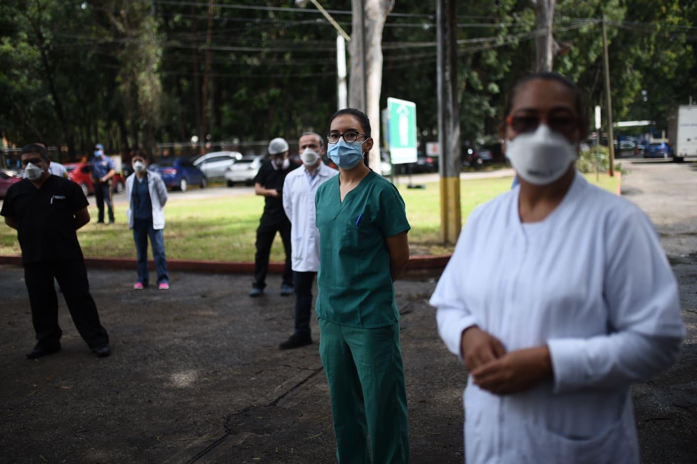 Pandemia por el COVID-19 en Guatemala. Hospital Roosevelt.