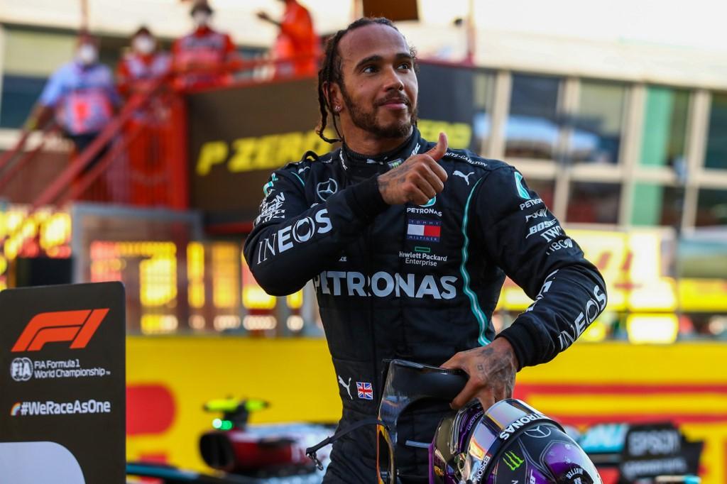 Lewis hamilton gana GP de Toscana