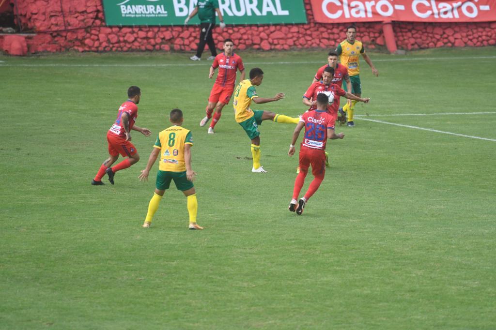 Resultado Municipal vs Guastatoya, Apertura 2020