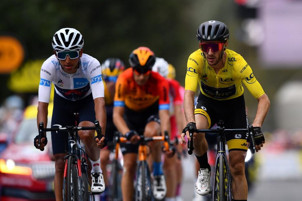 Egan Bernal, octava etapa del Tour de Francia